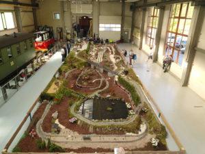 LGB Anlage zu Pfingsten 2020 im Lokschuppen in Jöhstadt